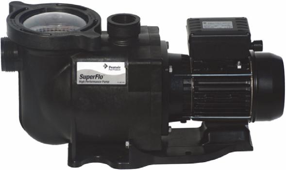 Schwimmteich Und Pool Shop Superflo Pumpe 075 Kw 230v Rd618